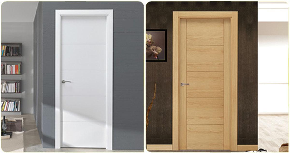 Puertas interiores garibai aroztegia s l for Puertas madera para interiores